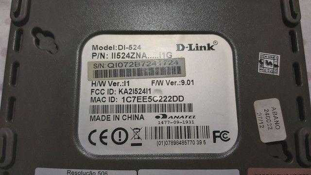 Roteador Wireless D-Link DI-524 - Foto 2