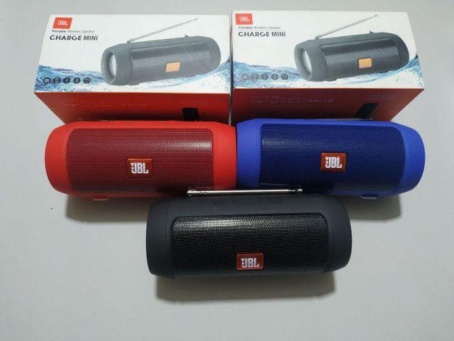 Vendo JBL Charge Mini Novas Ótima Qualidade de Som