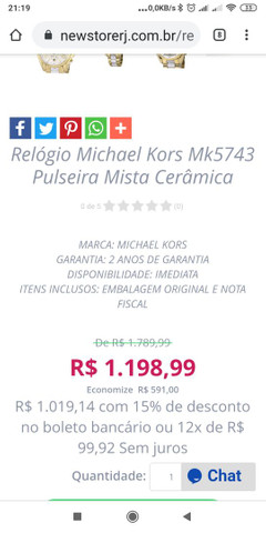 Rologio Michael Kors original - Foto 4