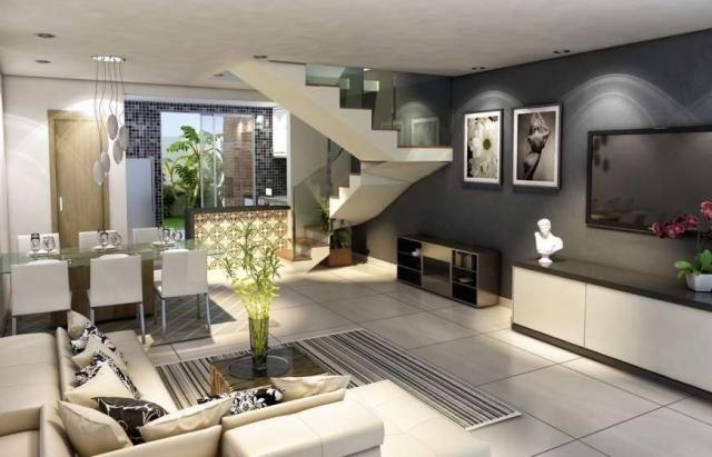 Casa duplex , 03 quartos, 04 vagas, 132,00 m², Bairro Itapoã.