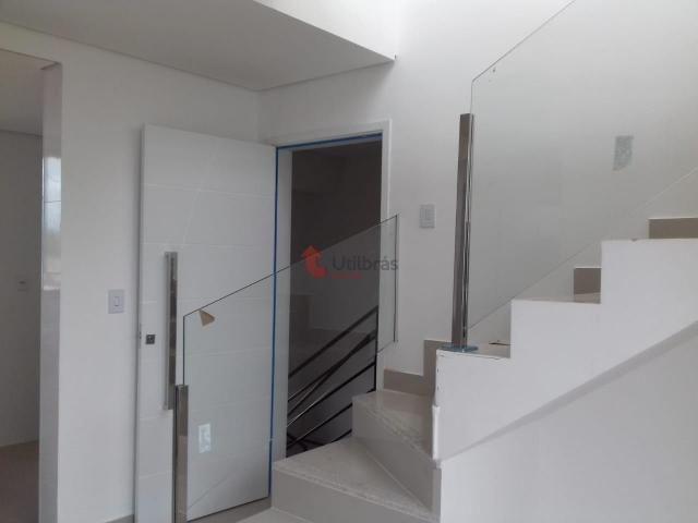 Cobertura à venda, 2 quartos, 1 vaga, Santa Branca - Belo Horizonte/MG