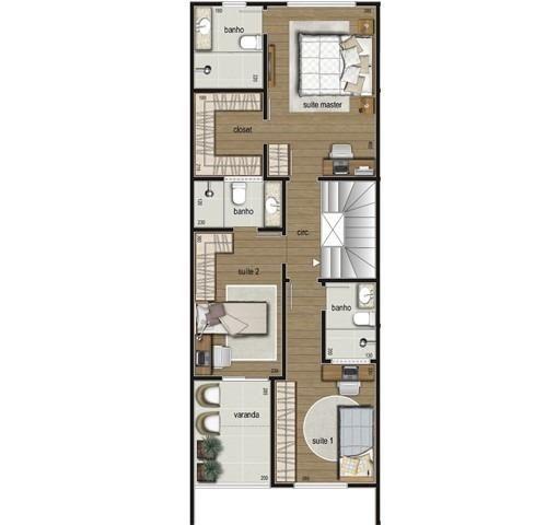 Casa duplex , 03 quartos, 04 vagas, 132,00 m², Bairro Itapoã. - Foto 8