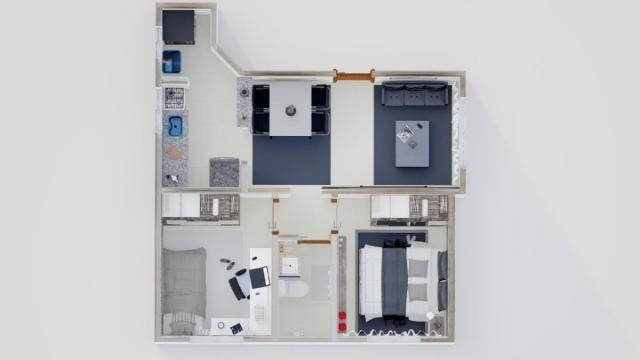 Apartamento à venda, 2 quartos, 1 vaga, Letícia - Belo Horizonte/MG - Foto 4