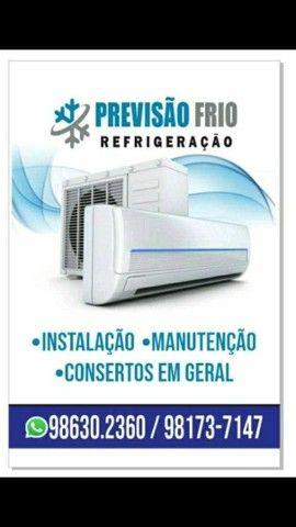 Instalação manutenção consertos em gerais em ar-condicionado