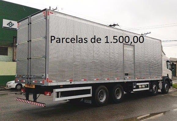 Scania P310 2014 8x2 Bitruck com Baú de Alumínio Entrada mais Parcelas e Contrato Serviço. - Foto 3