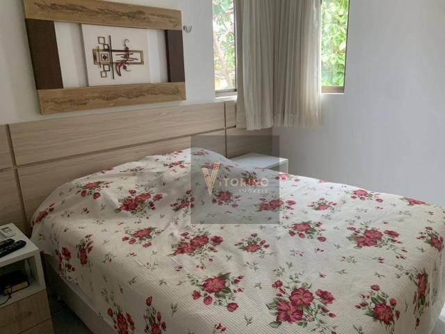 Apartamento com 3 quartos sendo 1 suíte, 76m², no Bessa - Foto 7