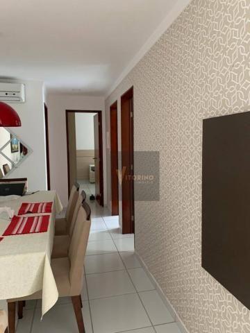 Apartamento com 3 quartos sendo 1 suíte, 76m², no Bessa - Foto 6
