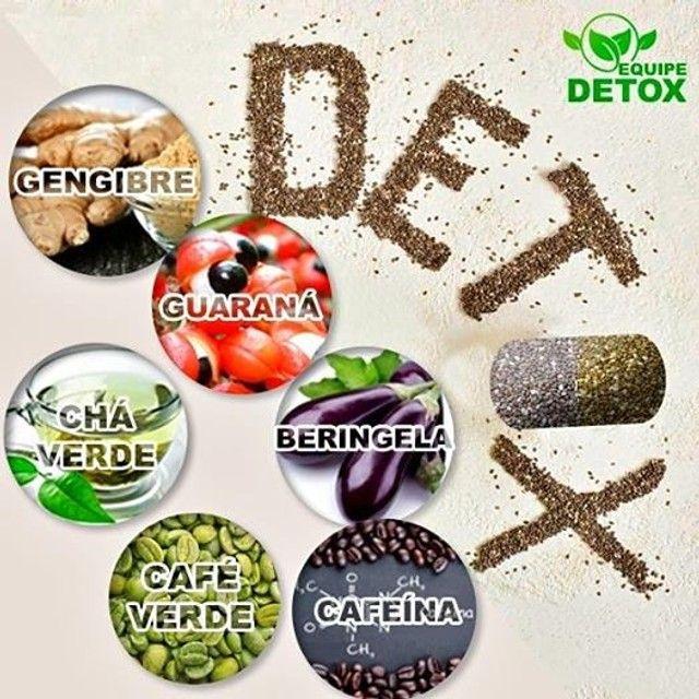 Detox caps 100 % natural