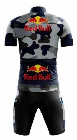 Conjunto Red Bull - Tamanho 3G - Foto 2