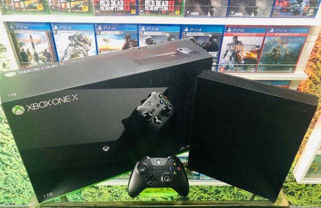 Xbox one X. Venha conhecer a maior loja de games do ABC!