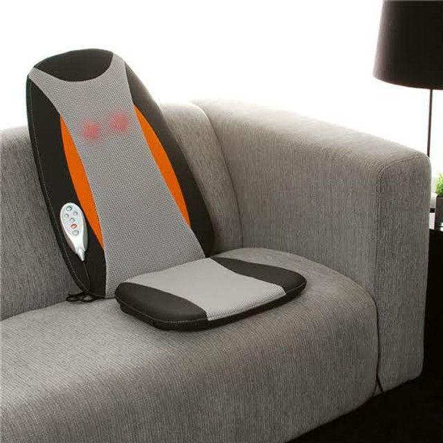 Assento Massageador Shiatsu Aquecimento - Relaxmedic (*Usado 01 vez*) - Foto 6