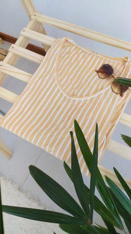 Blusa listrada marfinno  - Foto 3