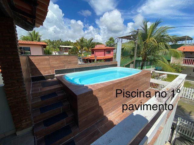 Casa com piscina e três quartos em Ilhéus-Olivença-BA - Carnaval R$ 2500,00 pacote - Foto 4