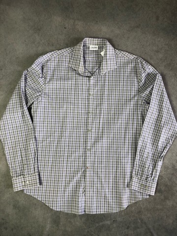 Camisa social Calvin Klein tamanho GG