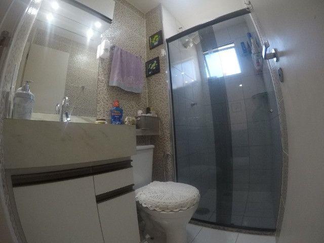 Vendo apartamento no condomínio Itacaré na Praia da Baleia / 2 quartos com varanda - Foto 13