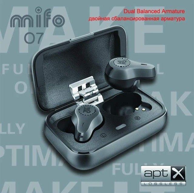 Fone Mifo o7 Bluetooth 5.0 Nanotube dinâmico.