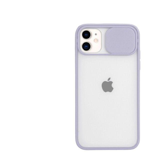Case Capinha Silicone Proteção Câmera Iphone 12 Pro/ Pro Max - Foto 3