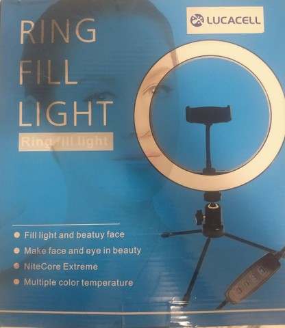 Tripé para celular Ring Light - Foto 3
