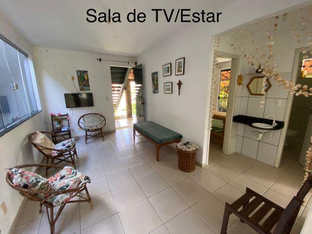 Casa com piscina e três quartos em Ilhéus-Olivença-BA - Carnaval R$ 2500,00 pacote - Foto 2