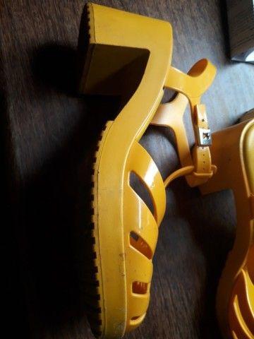Sandalia zaxy tamanho 39   50,00 - Foto 5