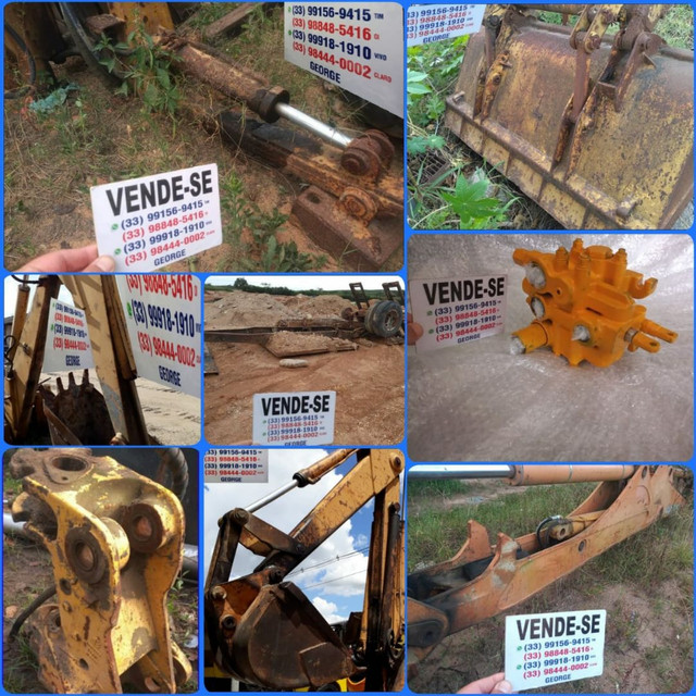 Base estabilizadora com cilindro,para bob cat ,cesto aéreo, grua florestal  - Foto 2