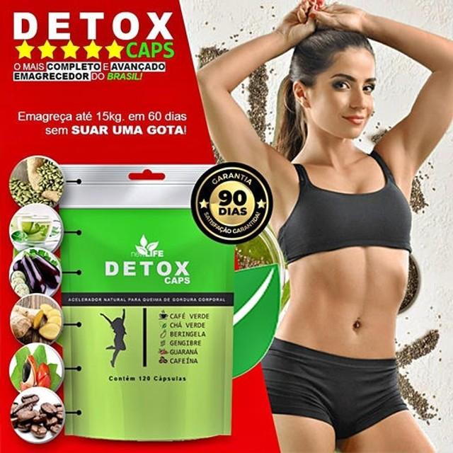 Detox caps 100 % natural - Foto 4
