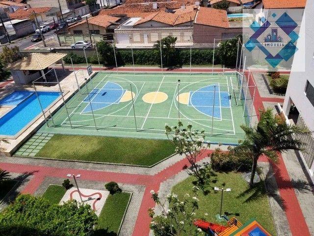Apartamento com 3 dormitórios à venda, 90 m² por R$ 490.000 - Vila União - Fortaleza/CE - Foto 15