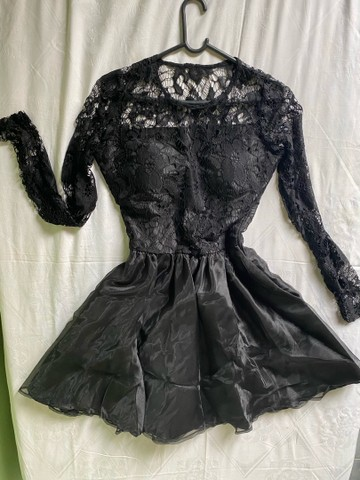Vestido de festa / vestido debutante / vestido social preto