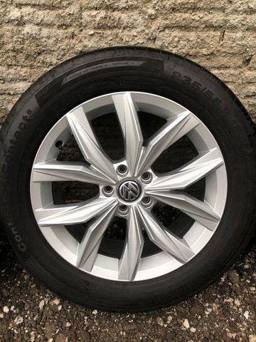 Jogo de rodas Tiguan VW 5 furos aro 18 - Foto 4