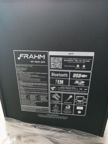 Caixa de som amplificada multiuso frahm _ MF 1200 App - Foto 2