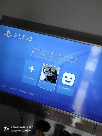 PS4 Slim 500GB HD 1 TB + 5 JOGOS FÍSICO ZAP 988-540-491 - Foto 3