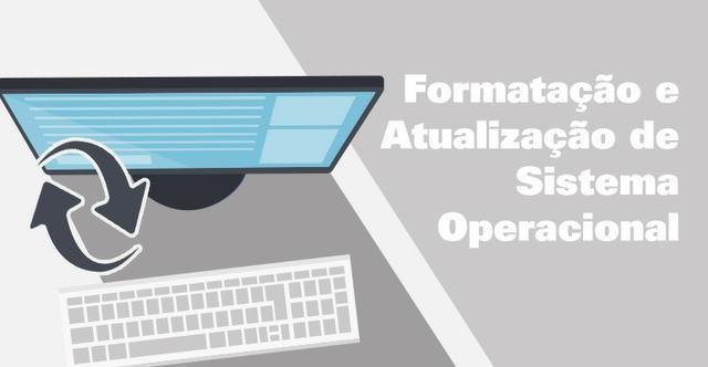 Formatação de pcs e notebook