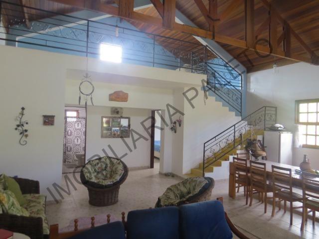 REF 240 Chácara 6000 m², açude com peixes, mata nativa, excelente casa, Imobiliária Paletó - Foto 7