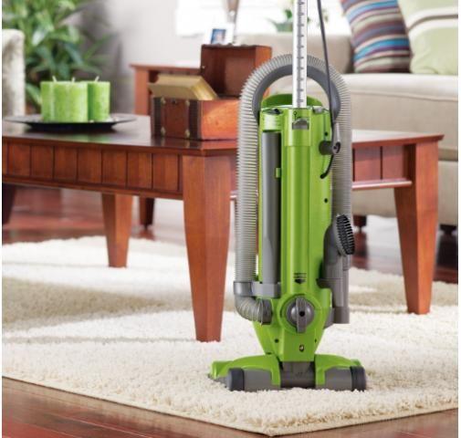 Aspirador Eureka Optima Leve, vertical sem bolsa, poderoso e leve, verde