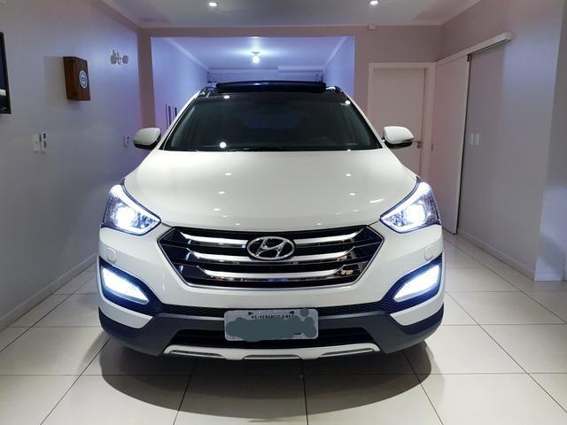 Hyundai Santa Fé 2015 Raridade 3.3 7 Lugares 270cv 28.000 Km Zerada