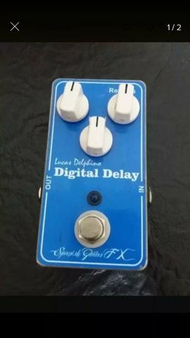 Pedal Digital Delay Handmade Spanish FX