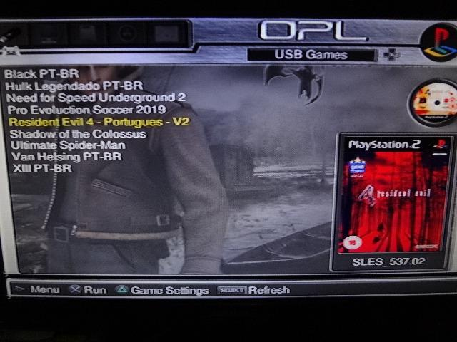 Play 2 Fat desbloqueio OPL Hd de 30 Gb