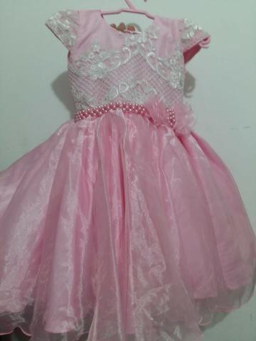 a2115ef713a92f 3 Vestidos \ Mãe E Filha 1 Ano \ 1 Vestido Festa 2 Anos - Roupas e ...