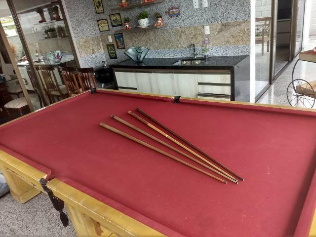 Mesa de bilhar 2.80 por 1.52 novinha - Foto 3