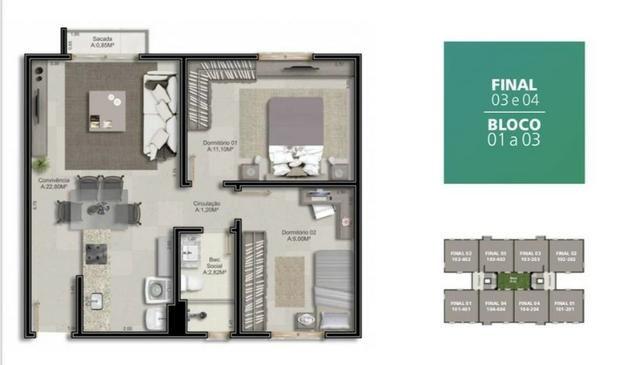 Apartamento a 5 Minutos do Centro - Foto 6