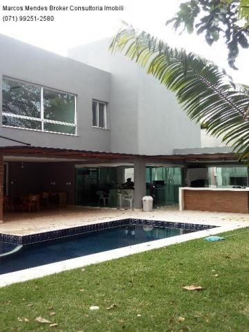Linda casa pra venda ou locação - Alphaville Salvador 1. Lote diferenciado em parte alta.  - Foto 10