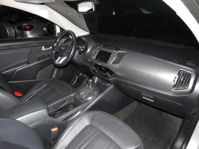 Kia Sportage 2.0 EX 4X2 16v Flex 4p Automático Top de Linha C/ Teto Solar Duplo - Foto 13