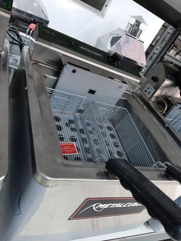 Fritadeira de bancada de 5000 watts de potência 47- * jean - Foto 2