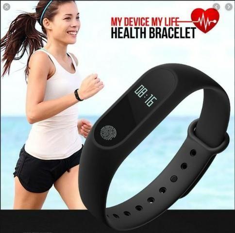 Relógio Pulseira Monitora Freqüência Cardíaca - Confira