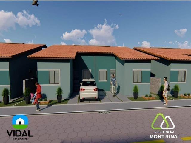 Casas no Residencial Mont Sinai com ITBI e Cartório Grátis!! - Foto 4
