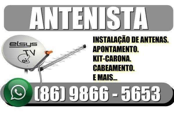 Antenista Profissional - Instalador de Antenas
