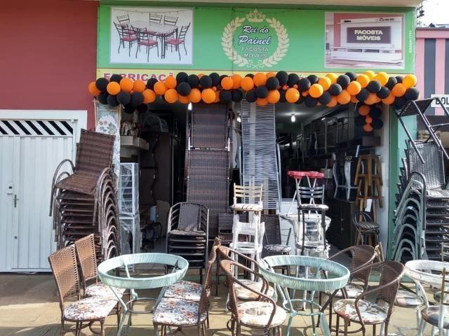 Mesa cromada com 6 cadeiras facosta só 998,00 a vista - Foto 4