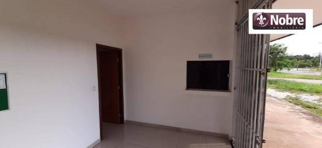 Sala para alugar, 95 m² por r$ 2.200,00/mês - plano diretor sul - palmas/to - Foto 3