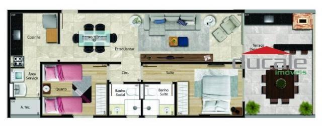 Edifício Monteiro de Lemos. Apartamento com varanda gourmet - Foto 8