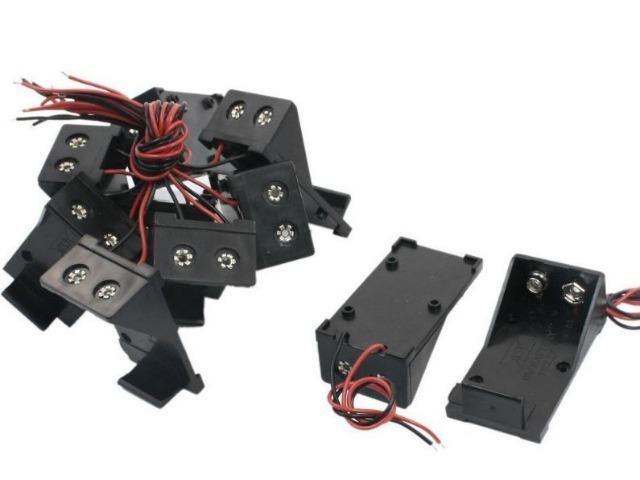 COD-CP186 Caixa Case Suporte Bateria 9v Arduino Automação Robotica - Foto 2